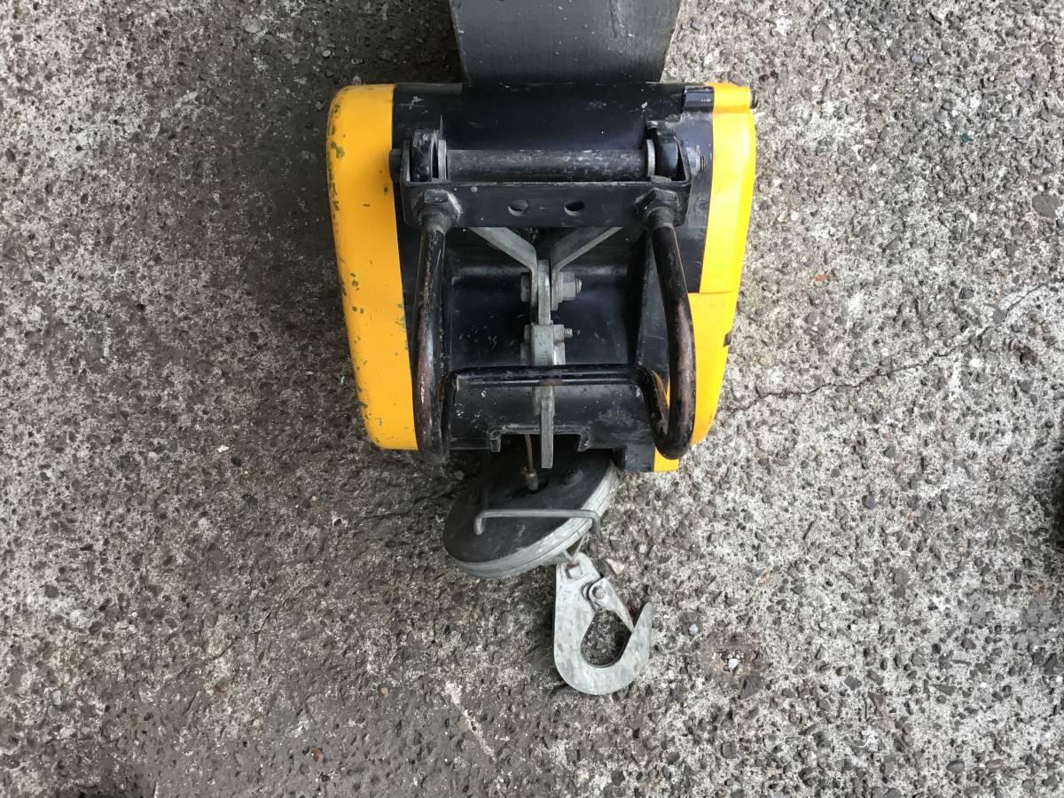 RYOBI/リョウビ 小型ウインチ WI-6C 荷重60kg ワイヤーロープ3.3mm×31mの出品になります_画像6