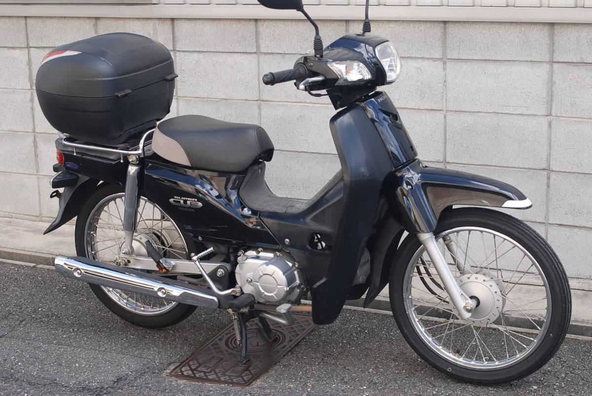 「♪スーパーカブ C110 JA10  黒 25000㎞  東大阪長田」の画像1