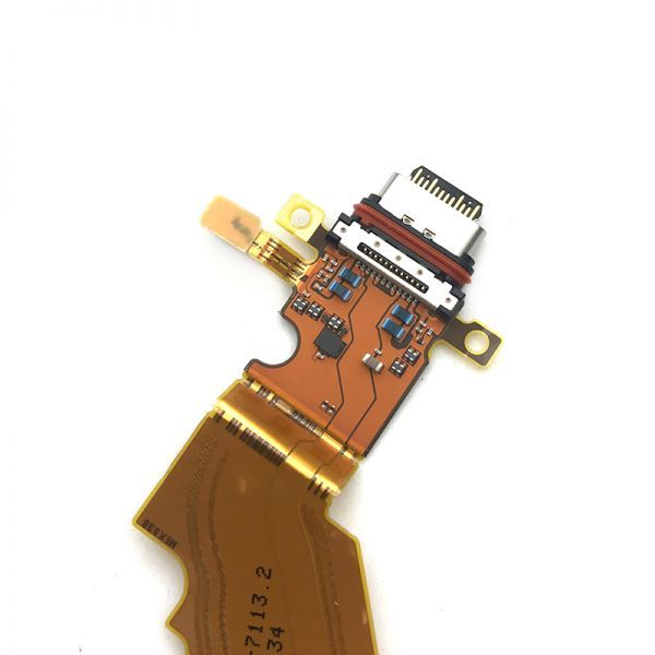 SONY ソニー Xperia エクスペリア XZ3 SO-01L SOV39 USB OEM 修理用 充電ポート チャージングポート ドックコネクター 基板 部品 DS020_画像2