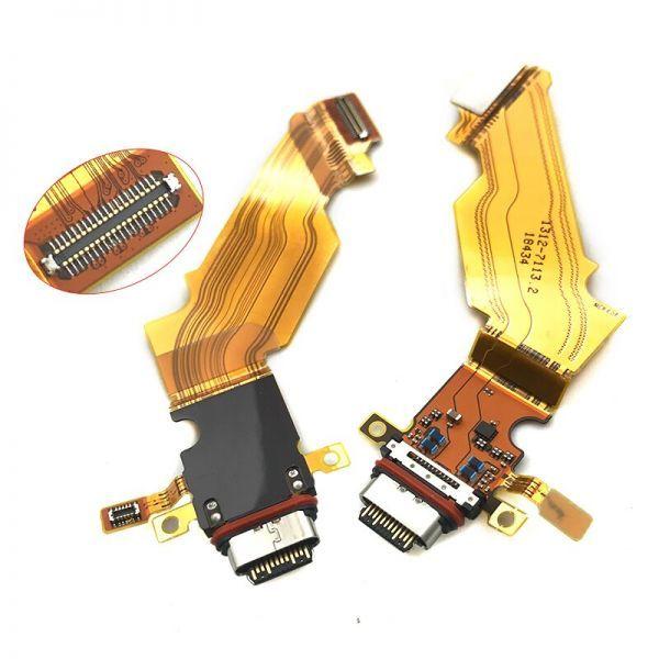 SONY ソニー Xperia エクスペリア XZ3 SO-01L SOV39 USB OEM 修理用 充電ポート チャージングポート ドックコネクター 基板 部品 DS020_画像1
