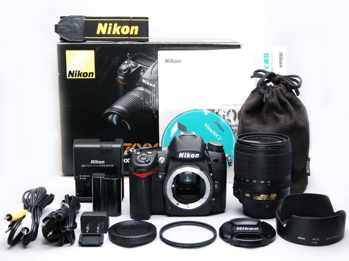 ■ショット数極小■ ニコン Nikon D7000 18-105mm VR レンズキット《ショット数わずか2333回》元箱付・付属品多数 #F2902N01230