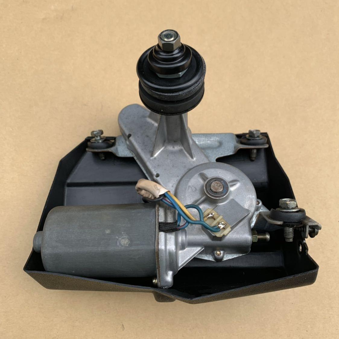 リヤワイパーモーター シールキット新品 HR31 R31 スカイライン 2ドア GTS-R 作動確認済み_画像1