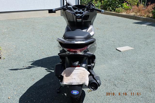 美品 ホンダ PCX150 KF30 ライトブラウン 走行距離47.3km おまけ付き_画像3