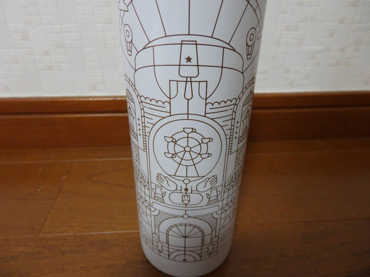 即決♪新品 限定 スタバ スターバックス リザーブ ロースタリー 上海 ステンレスボトル タンブラー マイボトル 水筒 リザーブロースタリー_画像2