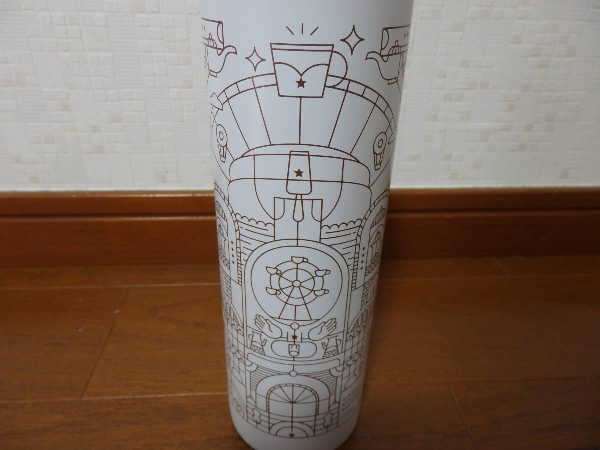 即決♪新品 限定 スタバ スターバックス リザーブ ロースタリー 上海 ステンレスボトル タンブラー マイボトル 水筒 リザーブロースタリー_画像3