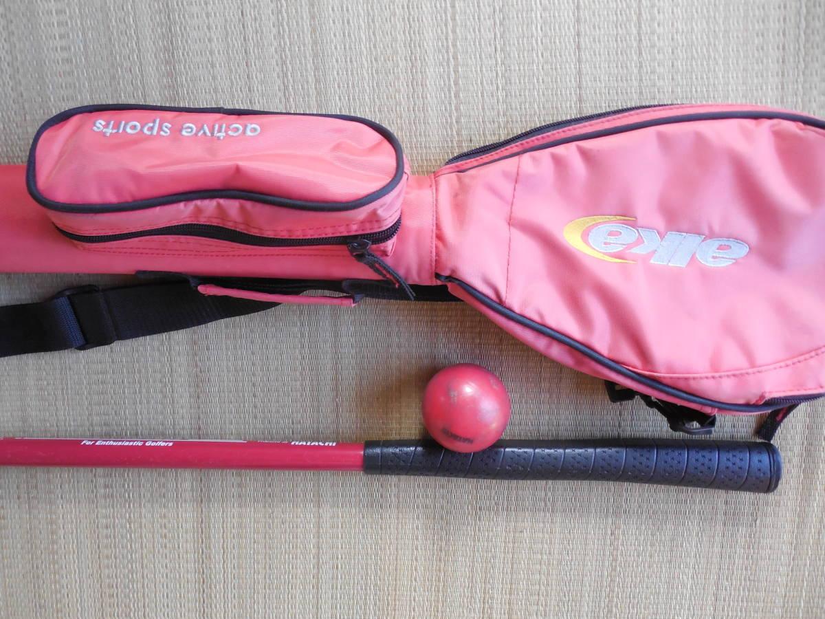 HATACHI グランドゴルフクラブ、ケース、ボール、 中古_画像7