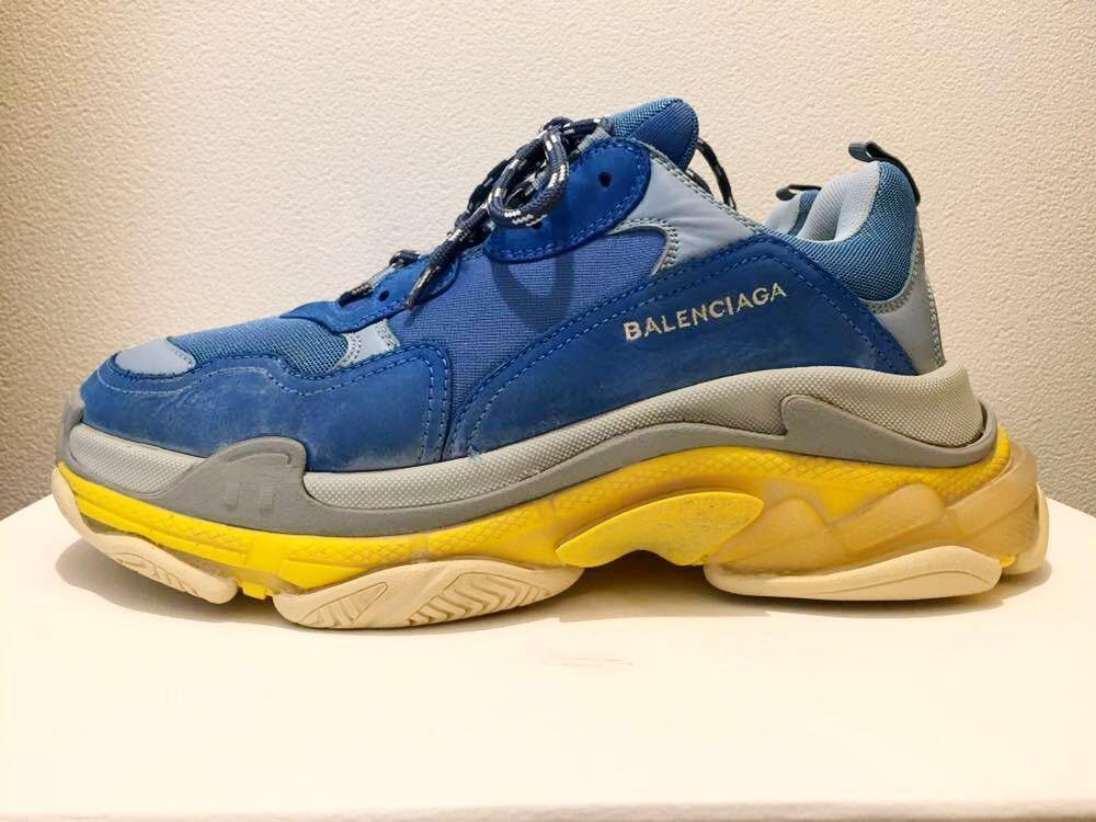 BALENCIAGA 18AW SSENSE Exclusive Blue