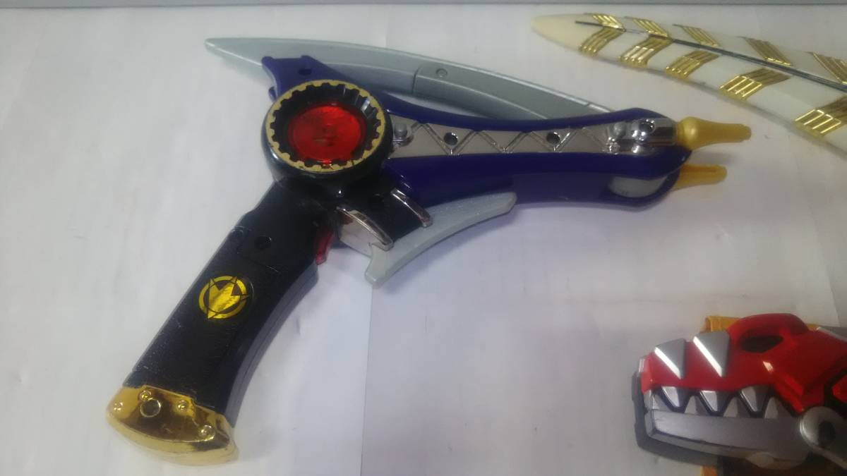 爆竜戦隊アバレンジャー DXダイノブレス アバレイザー 中古 スーパー まとめて_画像3