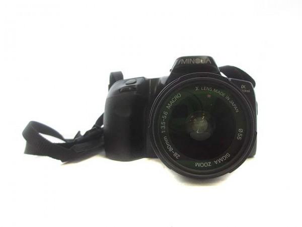 MINOLTA ミノルタ フィルムカメラ α 303si レンズ SIGMA ZOOM 28-80㎜ 1:3.5-5.6 MACRO ジャンク ZG4-191 ☆_画像2