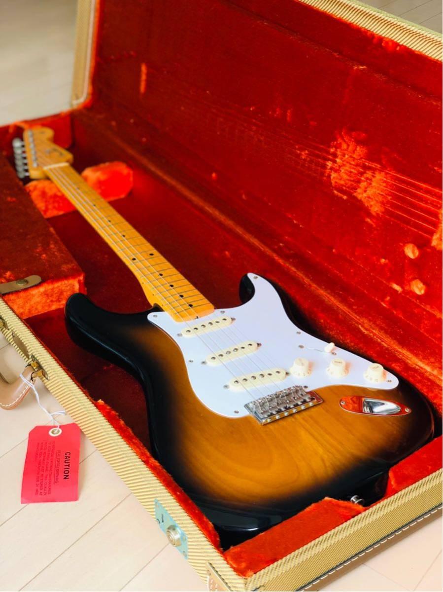 ニトロセルロースラッカー Fender U.S.A. American Vintage Stratocaster '57 Thin Lacquer フェンダー ストラトキャスター 2CS