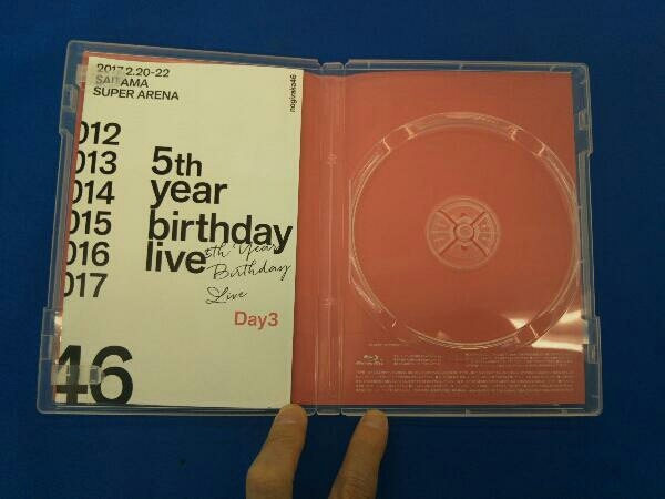Blu-ray 5th YEAR BIRTHDAY LIVE 2017.2.20-22 SAITAMA SUPER ARENA Day3(通常版)(Blu-ray Disc)_画像3