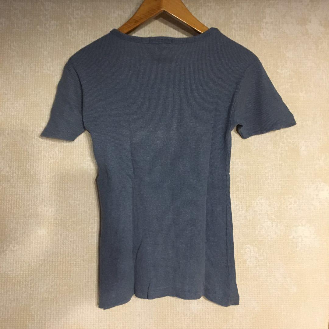 半袖カットソー2枚セット!USA製 J.CREW ジェイクルー リブニット ブルー/JEMAL ボーダーカットソー Tシャツ レッド レディース 古着