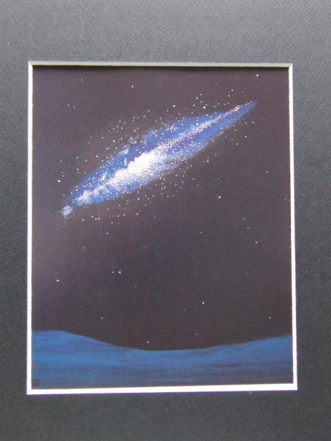 大野廣子、「GalaXY I」、希少な画集より、 新品高級額装付、状態良好、送料込み、日本人画家、coco_画像3