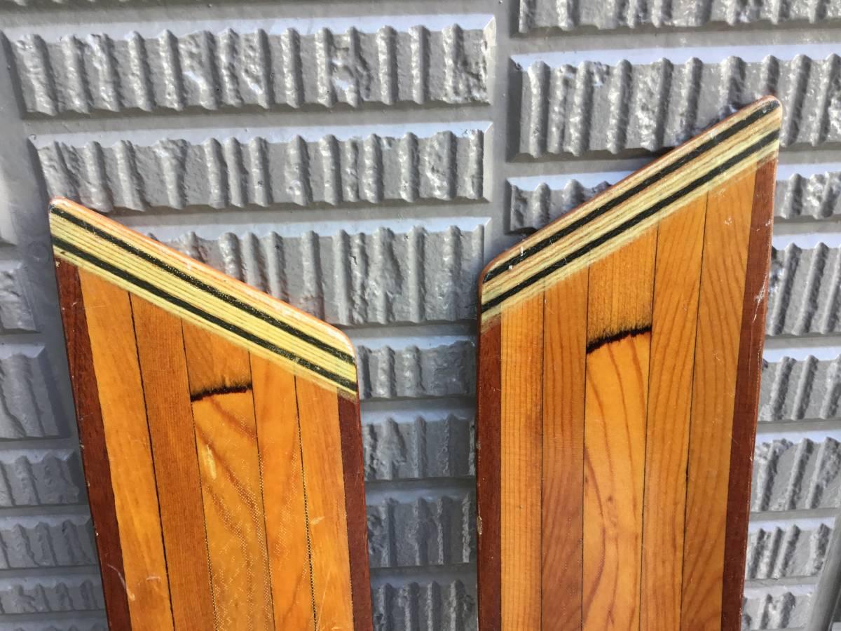 木製パドル ニンバス NIMBUS MADE IN CANADA  2ピース 230cm  シーカヤック_画像6