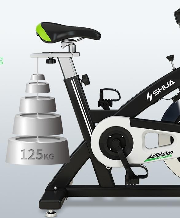 ほぼ無音!!スピンバイク 家庭用フィットネスバイク エクササイズ トレーニングマシーン 筋トレ スポーツ 運動器具 健康器具 エアロビクス_画像5