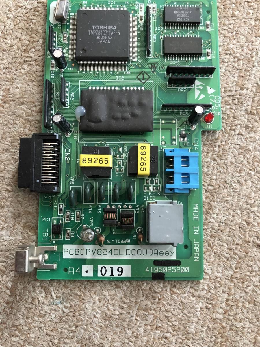 【サクサ 】PCB(PV824DL DCOU)ASSY 1デジタル局線増ユニット 1-44-2_画像2