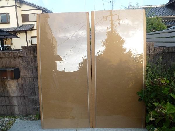 未使用◆セントラル硝子◇ FIRELEX 耐熱強化ガラス 透明 2枚1セット_画像2