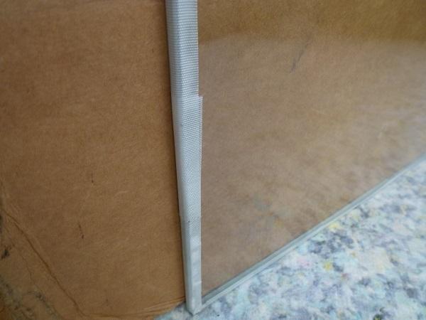 未使用◆セントラル硝子◇ FIRELEX 耐熱強化ガラス 透明 2枚1セット_画像4