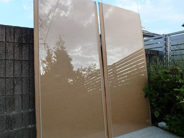 未使用◆セントラル硝子◇ FIRELEX 耐熱強化ガラス 透明 2枚1セット_画像9