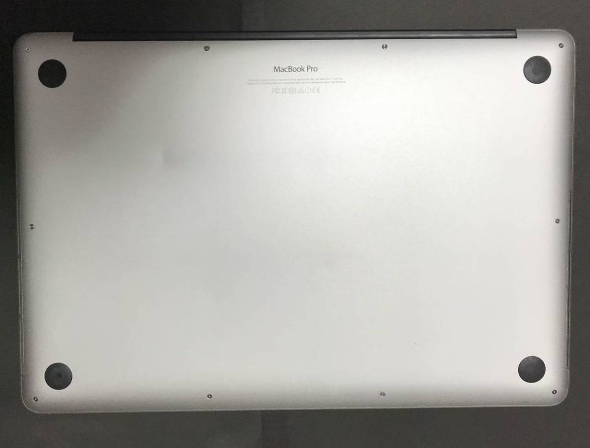 MacBook Pro Retina 15インチ Mid 2015 core i7 2.5GHz 4コア SSD512GB メモリ16GB [送料込]_画像3
