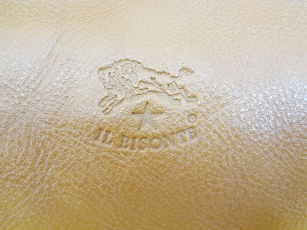 【超美品 希少】IL BISONTE イルビゾンテ オールレザー ハンドバッグ リボン_画像3
