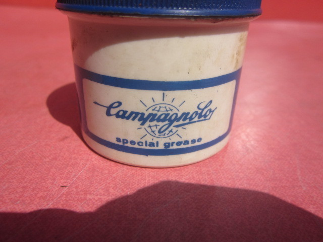 当時物 古い Campagnolo カンパニョーロ グリス SPESIAL GREASE ピスト ロードバイク ビンテージ 保管品 現状 _画像9