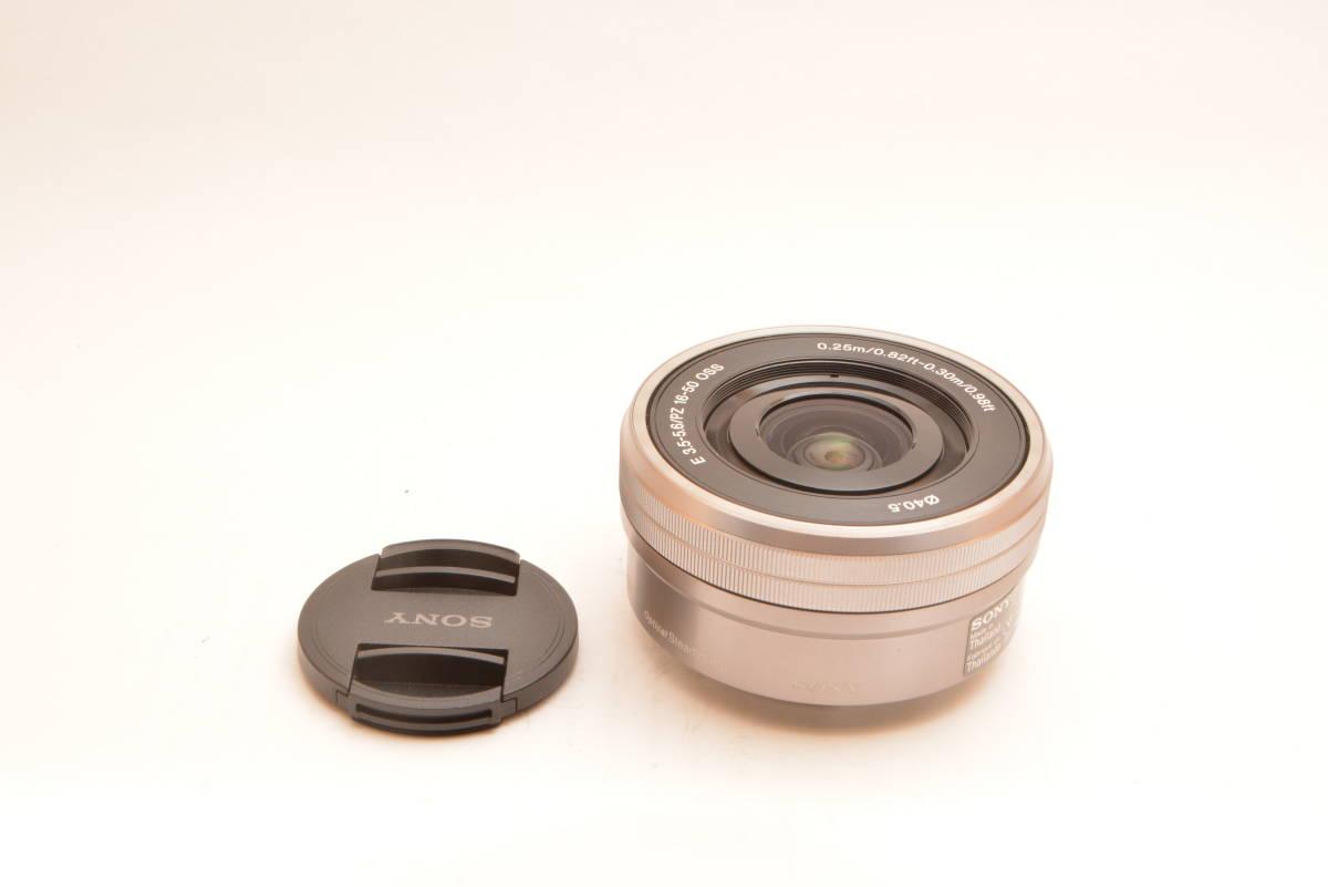 【美品】ソニー SONY 標準ズームレンズ E PZ 16-50mm F3.5-5.6 OSS ソニー Eマウント用 APS-C専用 SELP1650