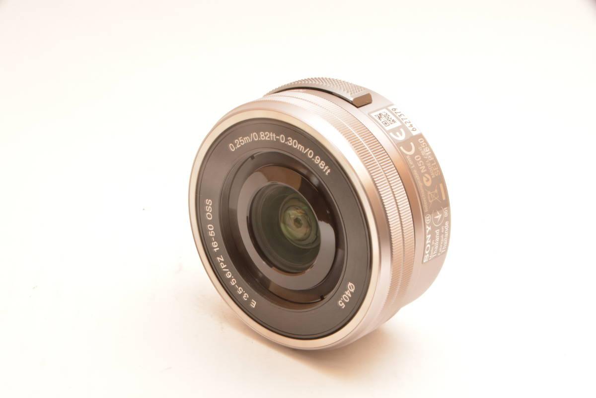 【美品】ソニー SONY 標準ズームレンズ E PZ 16-50mm F3.5-5.6 OSS ソニー Eマウント用 APS-C専用 SELP1650 _画像2