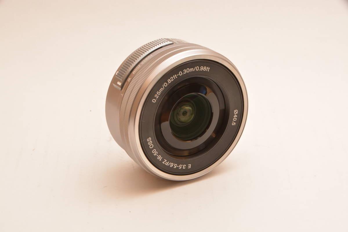 【美品】ソニー SONY 標準ズームレンズ E PZ 16-50mm F3.5-5.6 OSS ソニー Eマウント用 APS-C専用 SELP1650 _画像3
