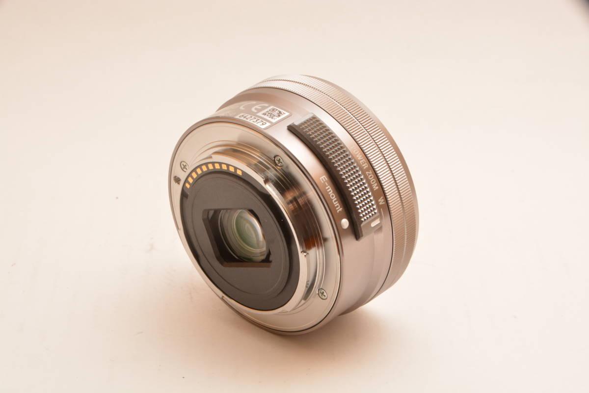 【美品】ソニー SONY 標準ズームレンズ E PZ 16-50mm F3.5-5.6 OSS ソニー Eマウント用 APS-C専用 SELP1650 _画像4