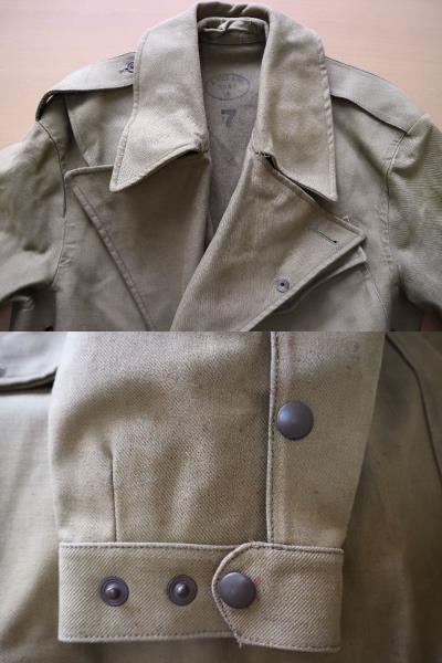 デッドストック ! 1944年 ビンテージ イギリス軍 英国軍 モーターサイクル コート ミリタリー ジャケット マッキントッシュ べルスタッフ_画像5
