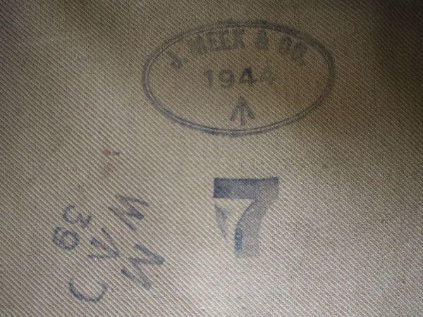 デッドストック ! 1944年 ビンテージ イギリス軍 英国軍 モーターサイクル コート ミリタリー ジャケット マッキントッシュ べルスタッフ_画像3