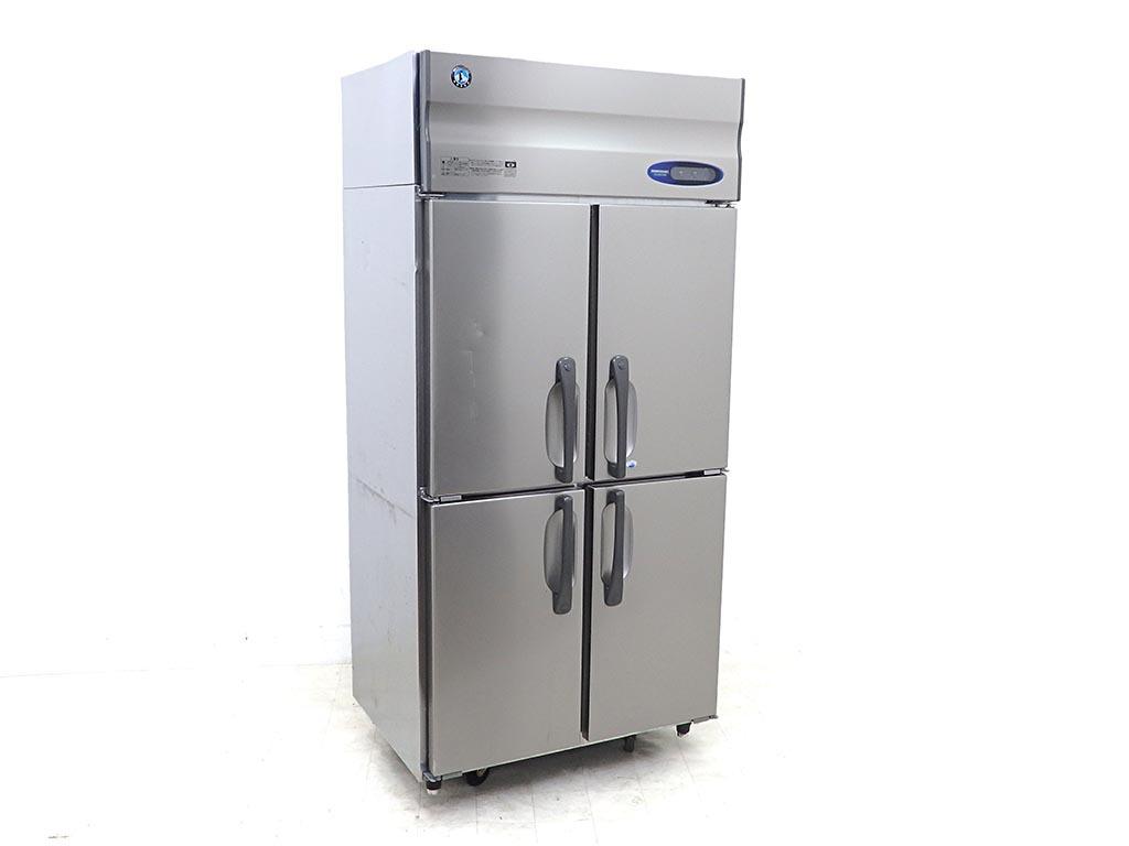 D4158【税込】2017年製 ホシザキ 業務用タテ型冷凍冷蔵庫 HRF-90ZT3(冷蔵430L/冷凍129L)/121万【営業所止め】