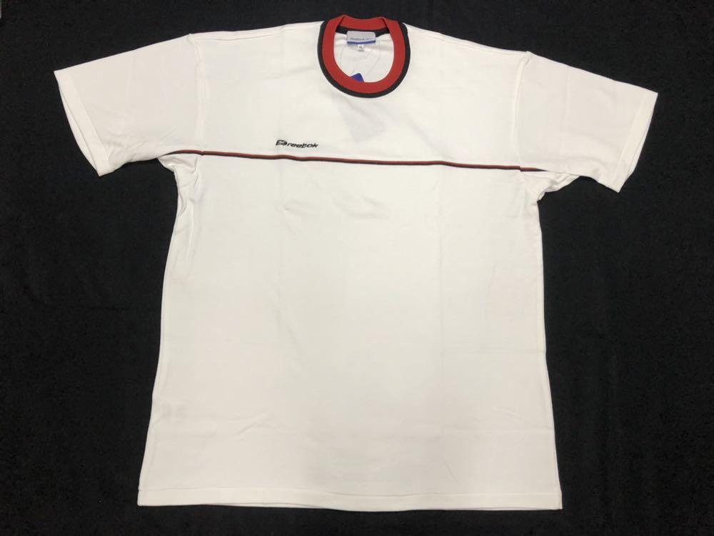 リーボック 半袖Tシャツ 体操服 体育 運動 部活 体操着  Reebok LLサイズ 大きいサイズ クルーネック 学校指定運動着 コスプレ 早640_画像1