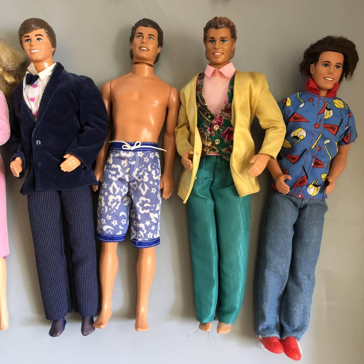 初期バービーあり1960年代バービー 中古バービー彼氏 まとめて22点セット大量ビンテージ昭和レトロ人形dollドール着せ替えレア送料無料_画像3