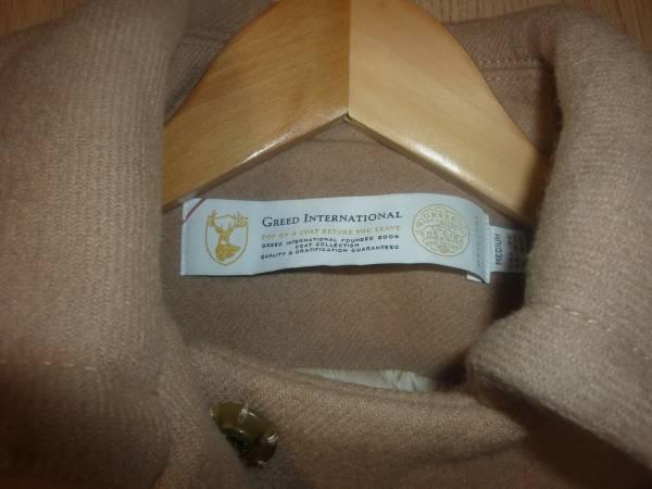 GREED グリード ポケットファー コート キャメル色 Mサイズ_画像4