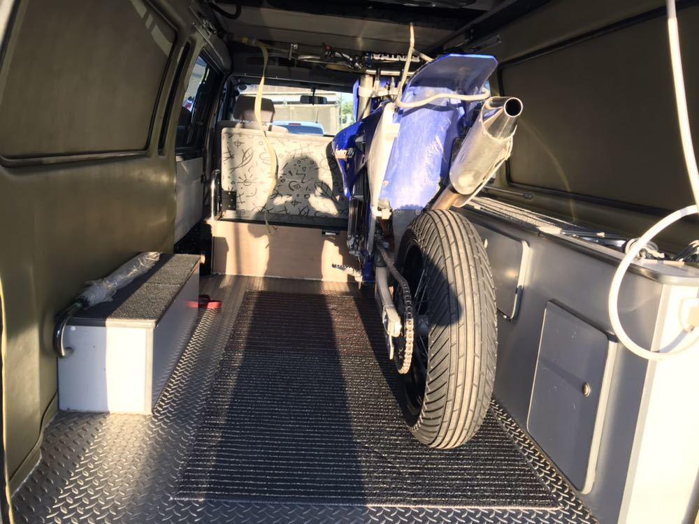 ロータスRV トランポ H11年式 ハイエースキャンピング 車検付 バンクベッド ディーゼルターボ 1KZ_画像10