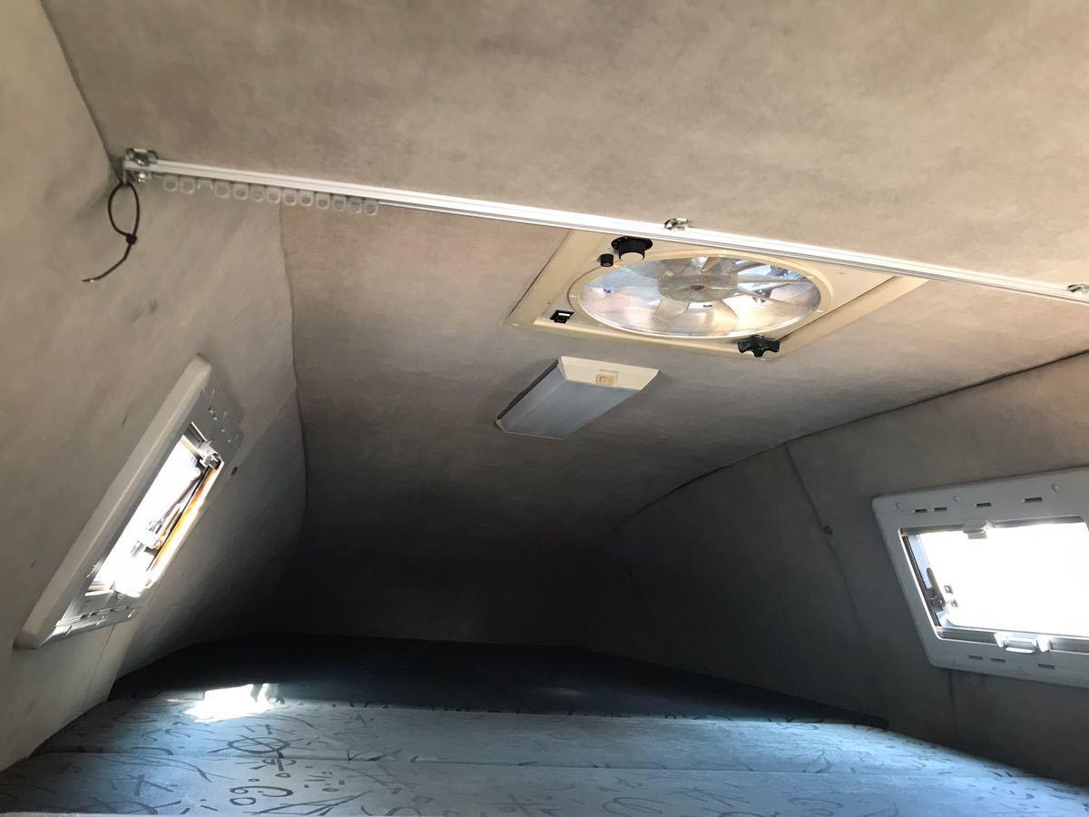 ロータスRV トランポ H11年式 ハイエースキャンピング 車検付 バンクベッド ディーゼルターボ 1KZ_画像9