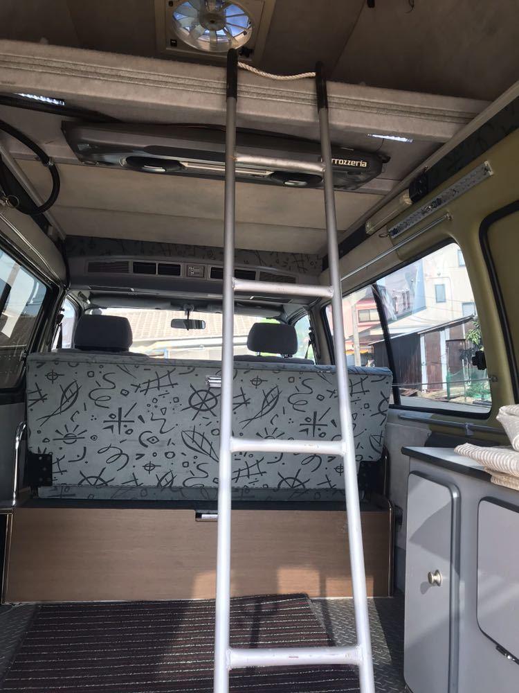 ロータスRV トランポ H11年式 ハイエースキャンピング 車検付 バンクベッド ディーゼルターボ 1KZ_画像8