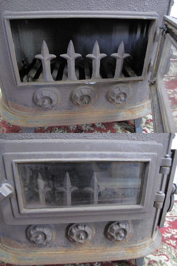鋳物薪ストーブ(997) 30×57×52.5cm 旭川発 引取り歓迎_画像10