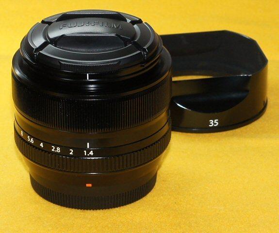 ★一発即決★FUJIFILM★XF 35mm F1.4 R★点検済★高画質★最新ファームウェア★ミラーレス★_多少使用感ございます。メーカーにて点検済
