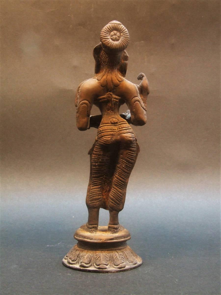 銅製 ミトゥーナ女神像_画像4