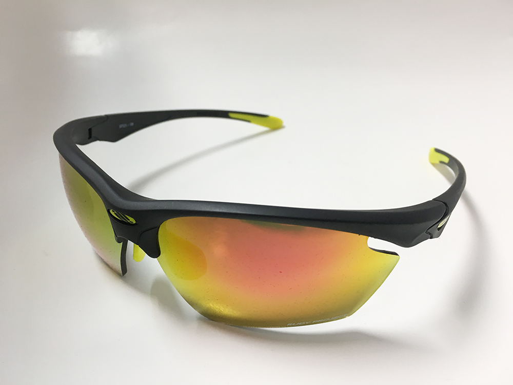 Strato fly black frame multi Laser orange lens SP234006 used beautiful goods RudyProject Rudy Project