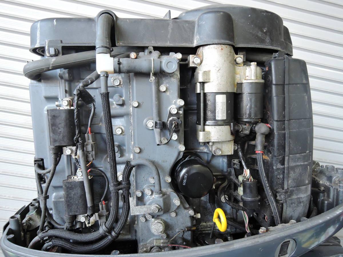 Outboard motor エンジン始動OK インジェクション YAMAHA ヤマハ 船外機 115馬力 4スト K850920 スズキ トーハツ ホンダ 90 100 130 yamaha_画像4