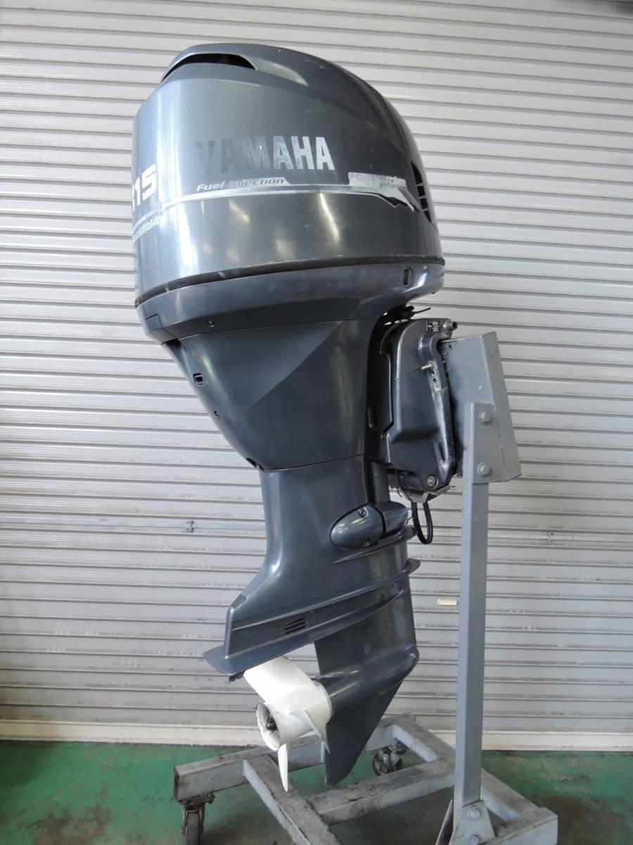 Outboard motor エンジン始動OK インジェクション YAMAHA ヤマハ 船外機 115馬力 4スト K850920 スズキ トーハツ ホンダ 90 100 130 yamaha_画像2