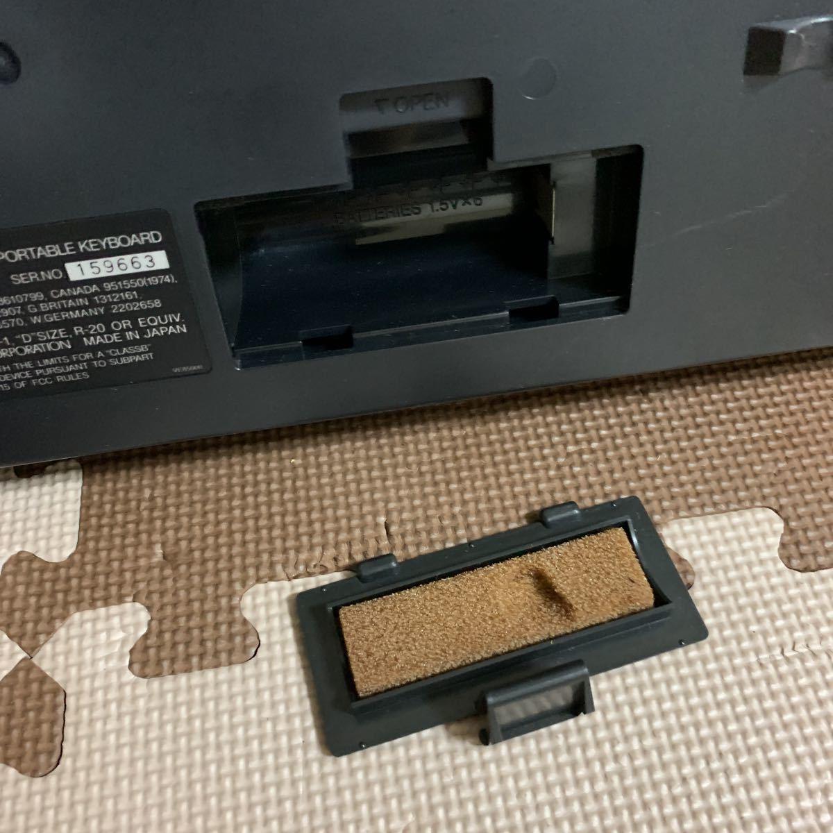 YAMAHA ボータトーンPSR-36 電子キーボード_画像9