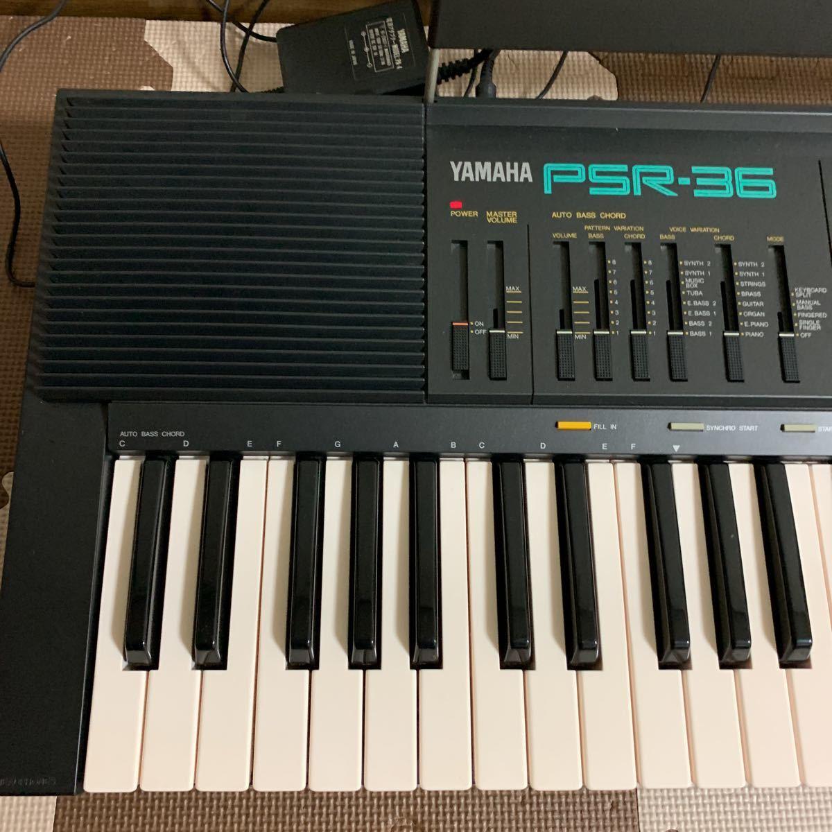 YAMAHA ボータトーンPSR-36 電子キーボード_画像3
