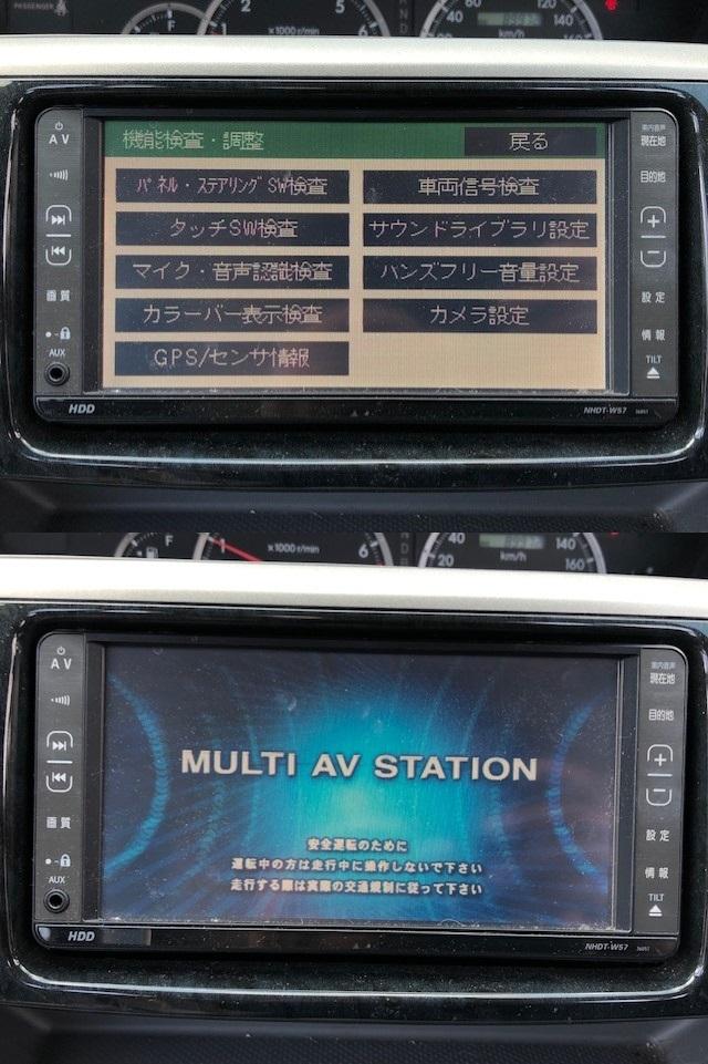 動作OK トヨタ純正 NHDT-W57 HDDナビ 取扱説明書 GPS マイク付き 即決あり_画像10