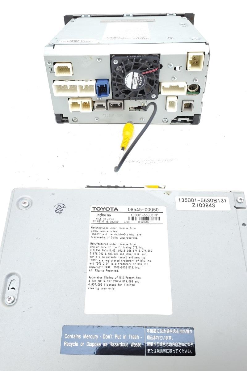 動作OK トヨタ純正 NHDT-W57 HDDナビ 取扱説明書 GPS マイク付き 即決あり_画像6