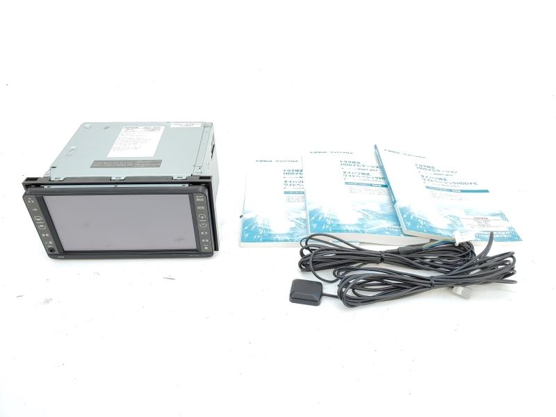動作OK トヨタ純正 NHDT-W57 HDDナビ 取扱説明書 GPS マイク付き 即決あり